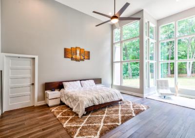 Open Concept Master Bedroom